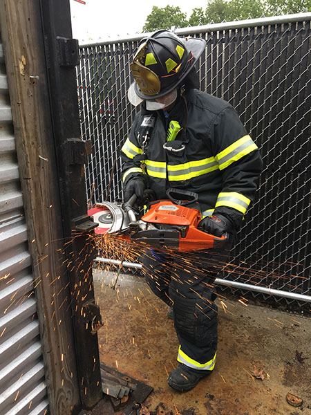 Connecticut Custom Fire Training Forcible Entry Training